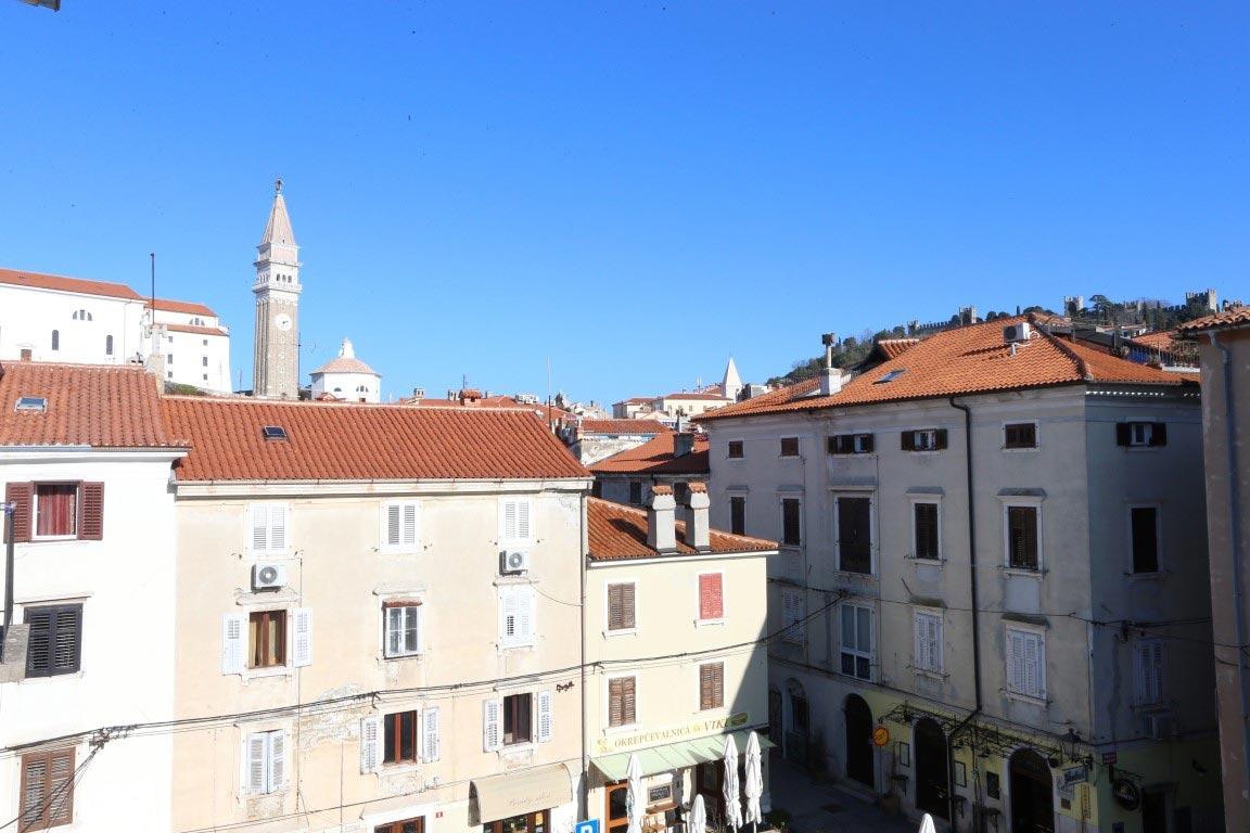 Pogled Piranskih srednjeveških ulic